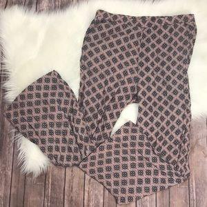 H&M Bohemian Tribal Print Trousers